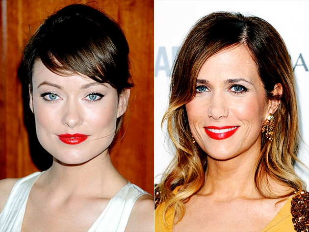 batom vermelho carmesim Tendências em Maquiagem: Primavera Verão 2012
