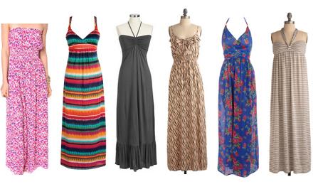 vestidos longos 6 Peças Must Have para o Verão