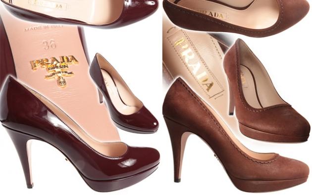Prada sapatos 2012