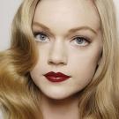 lábios vermelhos Maquiagem para o Natal 2011