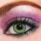 olhos poderosos Maquiagem para o Natal 2011