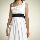 Vestidos branco e preto