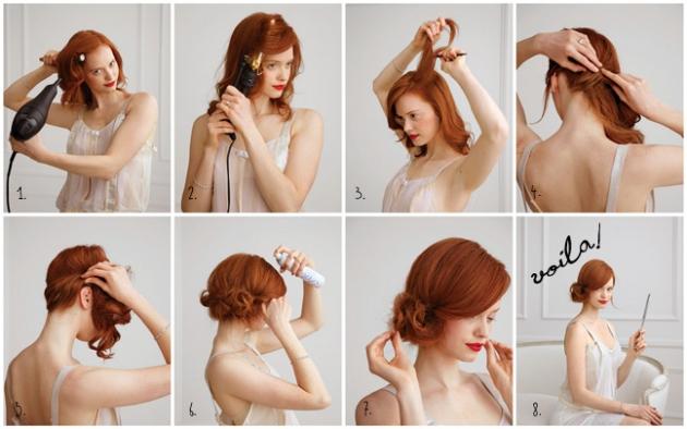 penteados para o ano novo