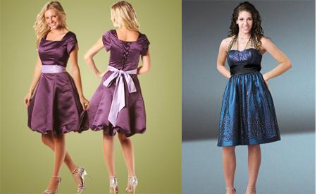 formal Vestidos formais curtos