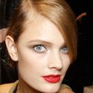 lábios vermelhos 01 Tendências em Maquiagem 2012