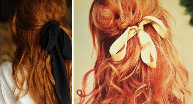 Como usar laços no cabelo
