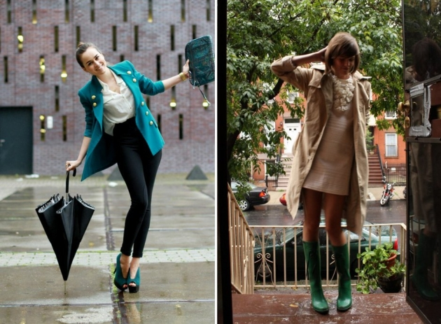 street style para dias de chuva