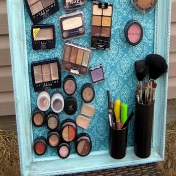 manter a maquiagem organizada
