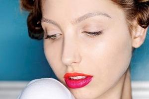 maquiagem labios bicolores