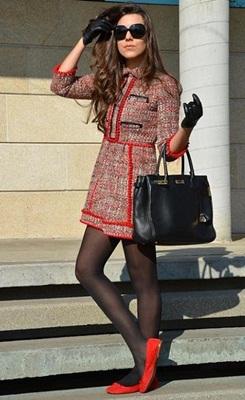 vestidos de inverno