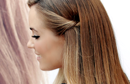 penteados simples capa