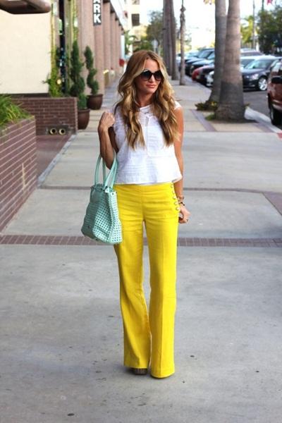 calça amarela 2