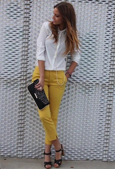 calça amarela 3