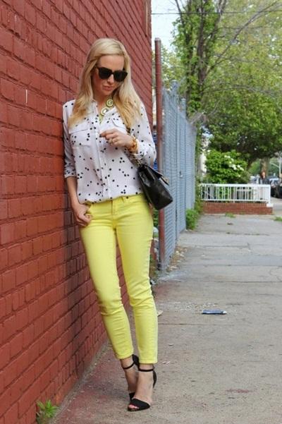 calça amarela 4