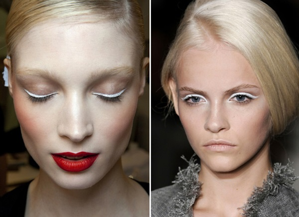 delineador branco o must da maquiagem